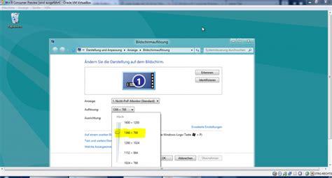 adjusting the screen resolution in virtualbox en code