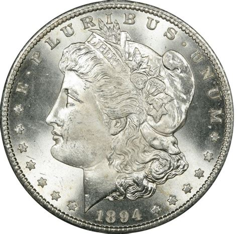 1894 o silver dollar 1894 silver dollar values and prices past sales