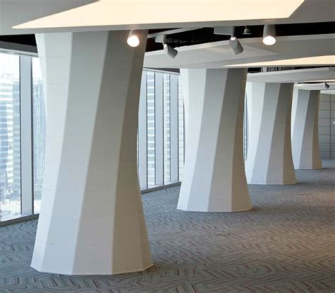 interior column wrap ideas column wrap seeyond architectural solutions walls