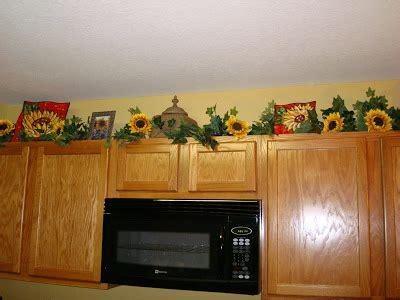 amazing Modern Farmhouse Interior Design Ideas #2: Kitchen-Decorating-Ideas-with-Sunflowers-sunflower-decals-for-kitchen-cabinets-.jpg