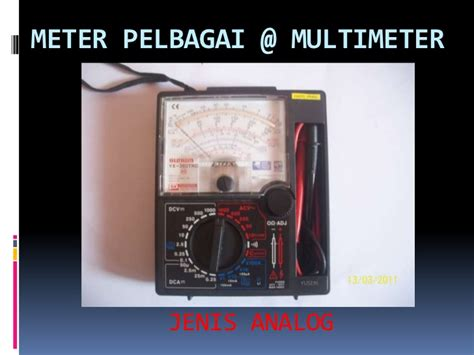 Analog Voltmeter Elektrik Merk Heles alat alat pengujian asas elektrik