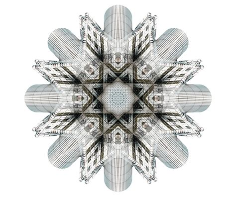designboom photography kaleidoscopic architectural compositions by cory stevens
