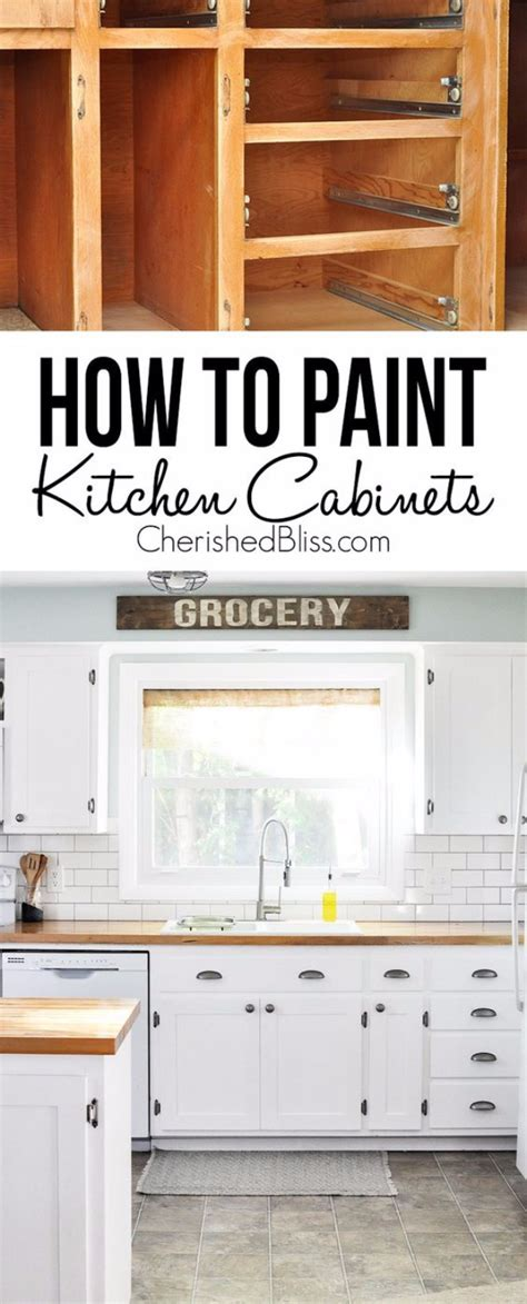 How To Paint Kitchen Cabinets Yourself by 16 Awesome Ideas For Kitchen Makeovers 4 How To Paint