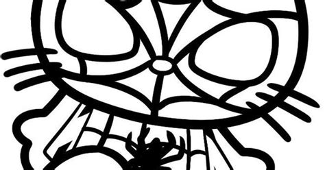 hello kitty batman coloring pages spider man hello kitty hello 215 215 kitty pinterest