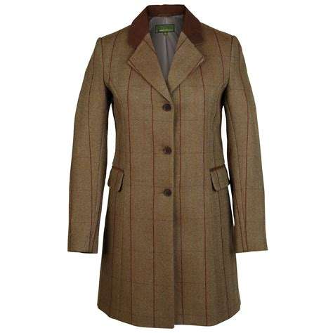 Tweed Coat york tweed coat brown 109 hidepark