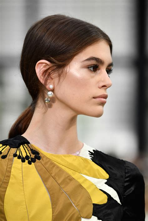 kaia gerber earrings kaia gerber dangling pearl earrings kaia gerber dangle
