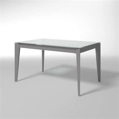 tavoli acciaio e vetro tavolo allungabile in acciaio e vetro per cucine moderne