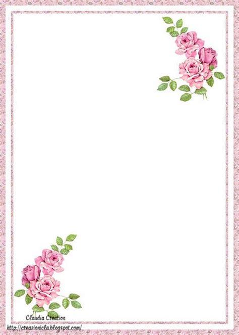 cornici per lettere fogli decorati da stare gratis qz31 187 regardsdefemmes