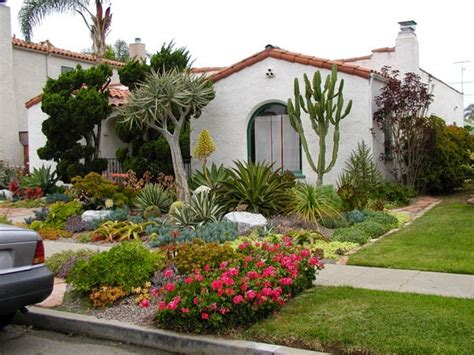 tiny front yard design small house with beautiful landscaping outdoor