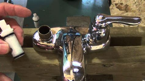 How To Fix A Moen Kitchen Faucet by How To Repair A Set Of Leaky 2 Handle Moen Washerless