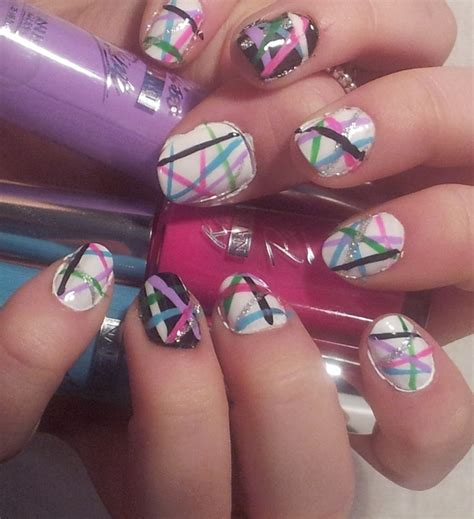 easy nail art designs newspaper 19 super easy nail designs images simple easy nail art