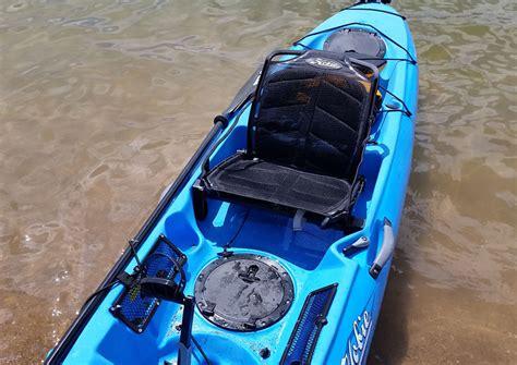 kayak raised seat seat ad vantage hobie mirage drive fired up kayak fish