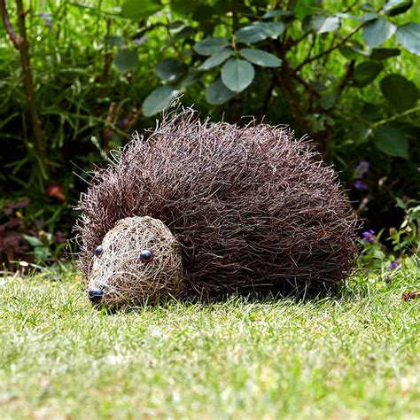 backyard ornaments smart garden spike the hedgehog garden ornament on sale