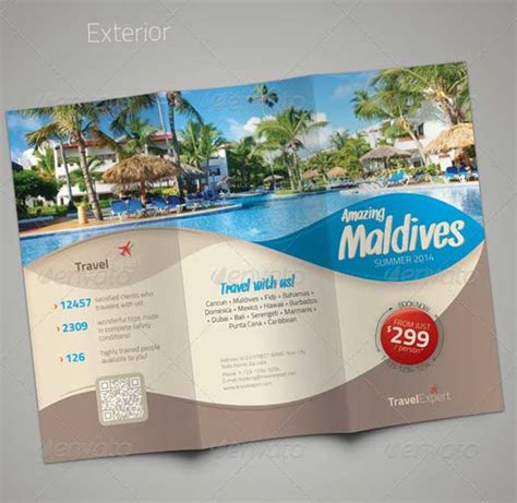 Traveling Brochure Templates by Travel Brochure Template 26 In Psd Vector Eps