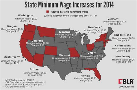 minimum wage rates by state 2015 today top headlines updated minimum wage increases will affect numerous