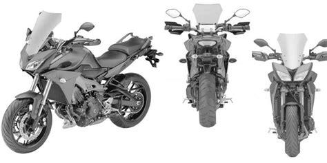 Motorrad Markenzeichen by Yamaha Patenkan Model Petualang Berbasis Mt 09 Kompas