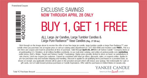 printable coupons for yankee candle 2015 yankee candle promo codes for 2015 2017 2018 best cars
