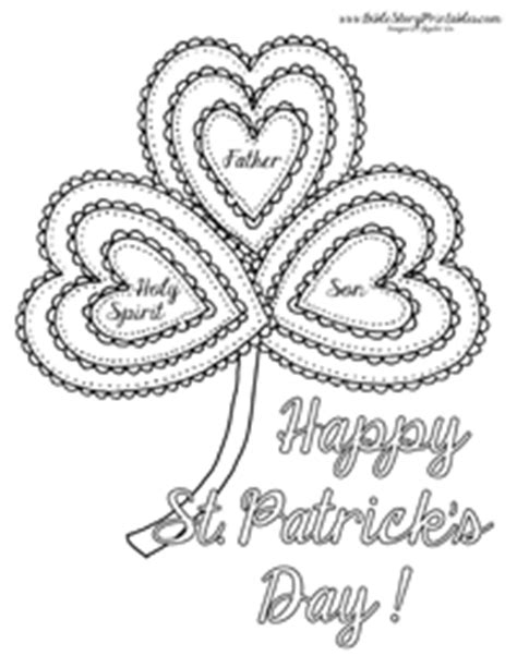 christian shamrock coloring pages holy trinity shamrock coloring coloring pages