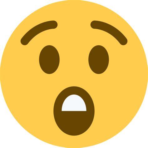 imagenes de caras asombradas cara asombrada emoji