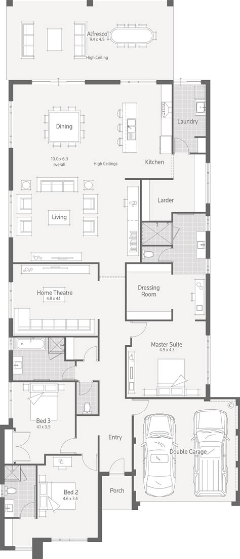 how to change the floor plan of your house nine dale alcock homes change two bedrooms and