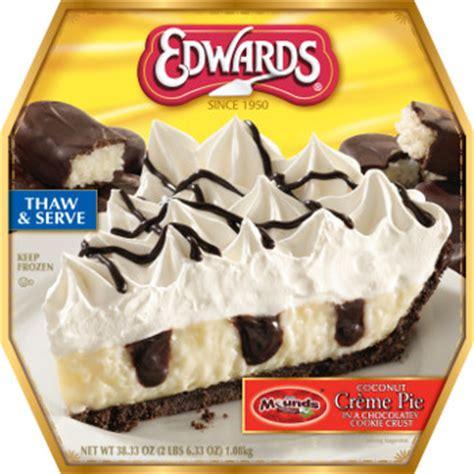 edwards desserts adds  trendy flavors   frozen pies    dairy foods