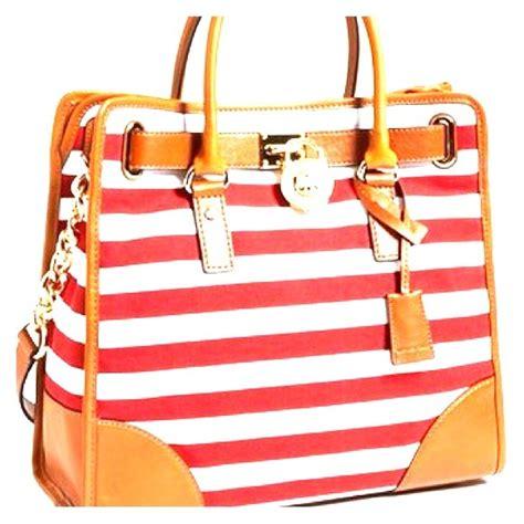 Couture Preppy Sailing Tote Establishment Slouch Bag by 24 Michael Kors Handbags Mk Hamilton Striped Tote