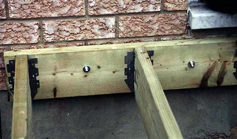 how to attach deck to house installing deck ledgers diy deck plans