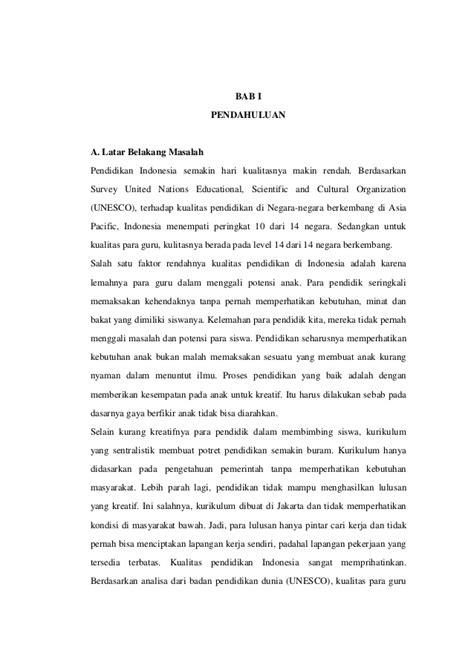 membuat makalah pendidikan makalah permasalahan pendidikan di indonesia
