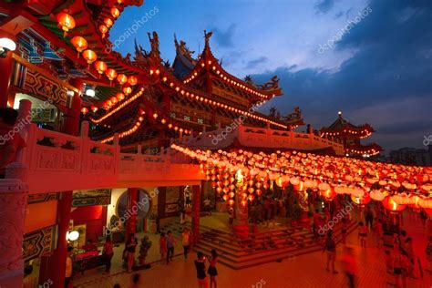 visit malaysia during new year thean hou temple in kuala lumpur at during