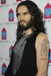 russell brand tattoo removal brand photo