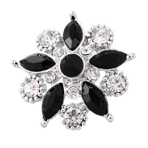 Snap Button Bracelet Silver Tone fashion snap jewelry button flower silver tone fit fashion