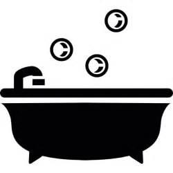 baignoire 224 bulles de bain t 233 l 233 charger icons gratuitement