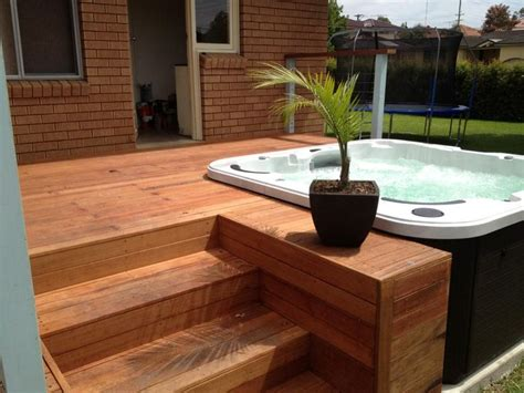 bathtub deck ideas 25 best ideas about hot tub deck on pinterest hot tub