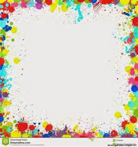 color frame colorful paint splatter border amazing wallpapers