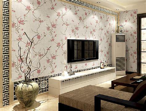 gambar wallpaper dinding ruang tamu terbaru lensarumahcom