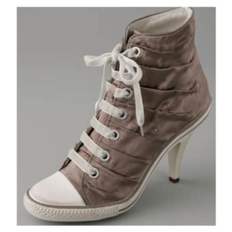 high heels converse shoes fashion and trend converse high heels sneakers