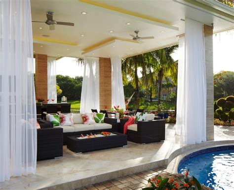 innovative design home remodeling contemporary outdoor dining tropical patio other