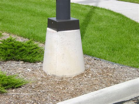 concrete light pole base additional precast concrete products npca