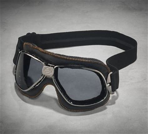 Harley Davidson Motorradbrille by Rally Retro Performance Goggles Goggles Official
