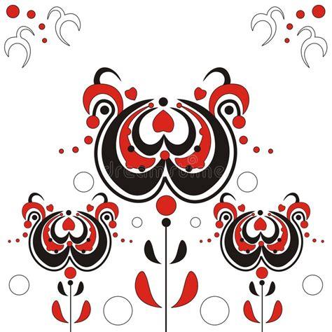 disegni astratti fiori fiori astratti illustrazione vettoriale illustrazione di