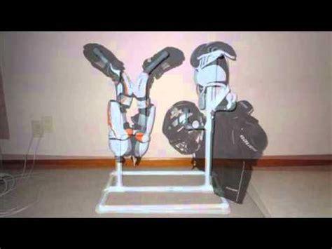 fan for hockey drying rack hockey equipment drying rack youtube