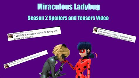 News More And The City Spoliers 2 by Miraculous Ladybug Ll Season 2 Spoilers And Teasers