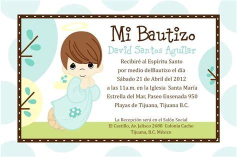 invitaciones de bautizo bautismo espanol invitacion invitaciones de bautizo para nino invitaciones para
