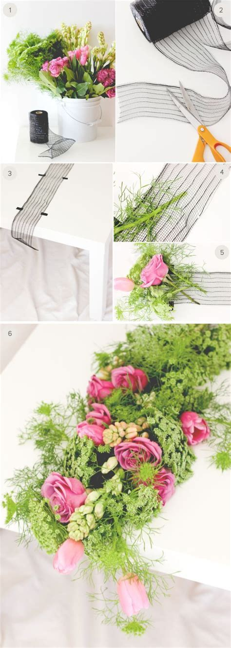 Table Runners Diy Wedding And Runners On Pinterest Fresh Flower Table Centerpieces