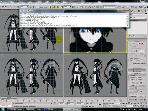 Gm 21 3ds Max Animation 3ds max low poly anime tutorial 1 avi