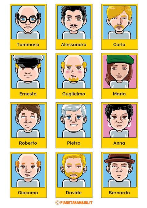 giochi da tavolo gratis da scaricare tutte le schede dei personaggi gioco da tavola