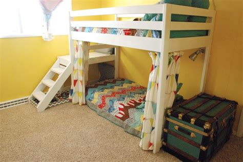 toddler bunk beds with stairs diy loft bunk bed with stairs