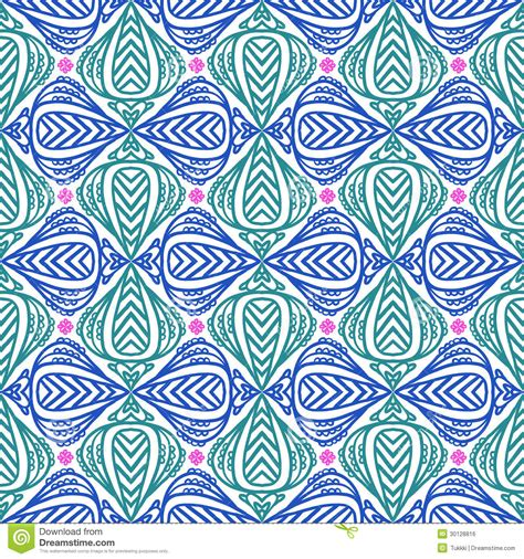 20973 Bold Retro Pattern S M L modern stylization of indian patterns royalty free stock