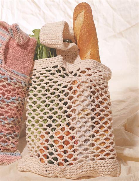 pattern crochet market bag market bag patterns yarnspirations