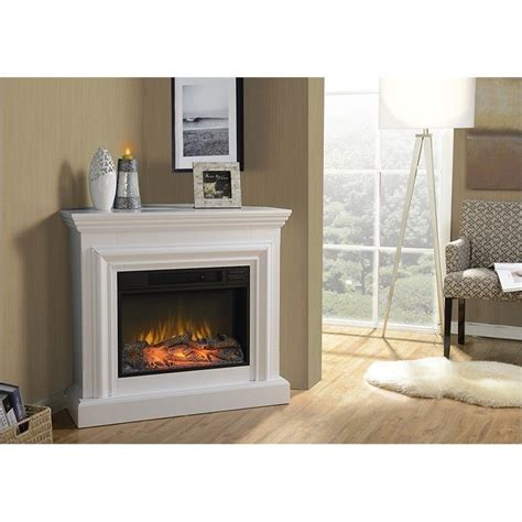 large white electric fireplace homestar 38 quot wide mantel white electric fireplace ebay
